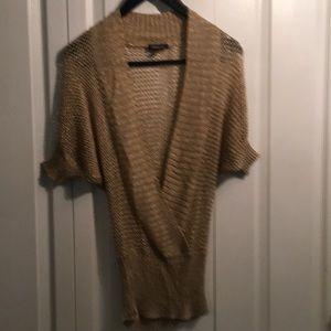 Bebe Gold sweater